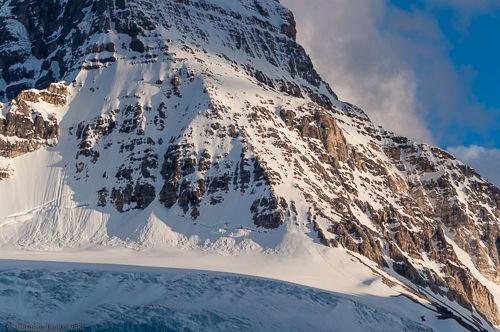 The vastness of Mt. Assiniboine.